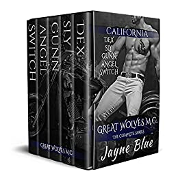 Great Wolves M.C. The Complete Series by Jayne Blue