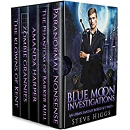 Blue Moon Investigations Boxed Set by Steve Higgs