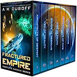 Fractured Empire by A K DuBoff
