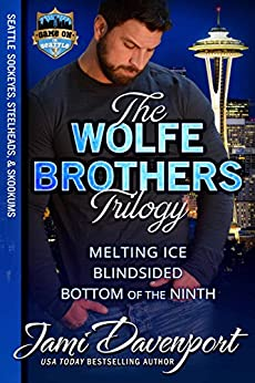 The Wolfe Brothers Trilogy by Jami Davenport